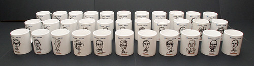 Caricatures printed on mugs for Fisher Scientific - 8