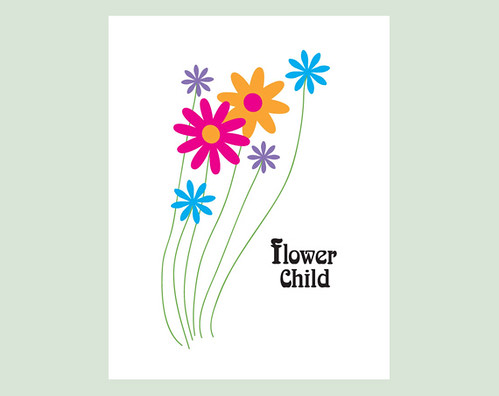 Art Print: Flower Child