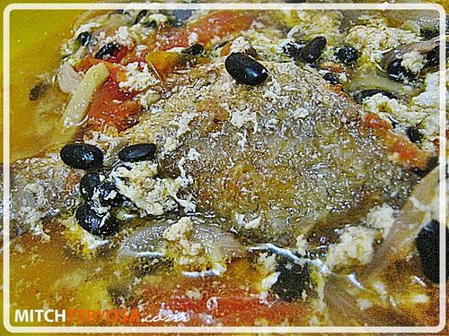 Fish Sarciado with Tausi