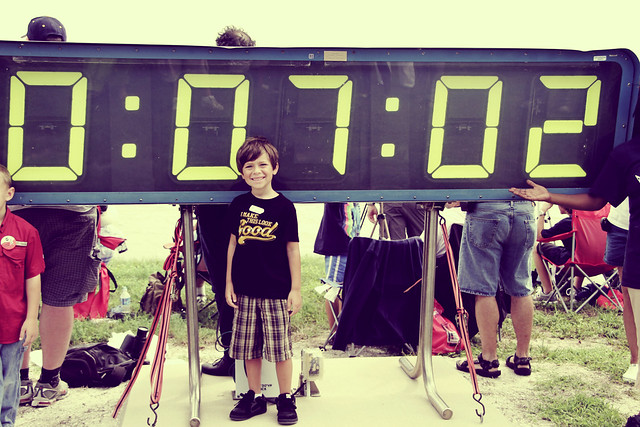 Eli and the countdown clock