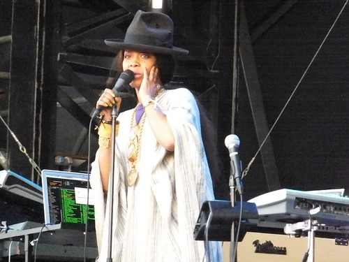 Erykah Badu at Ottawa Bluesfest 2011