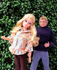 Action Girl vs Action Man (dollyfan1) Tags: doll actionman uneeda reroot actiongirl dollikin palitoy