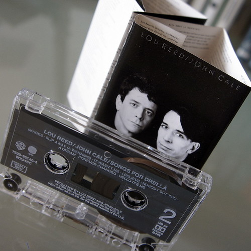 lou reed / john cale :  songs for drella (tape) - view 2 by japanese forms