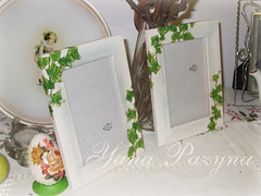 Frames with ivy