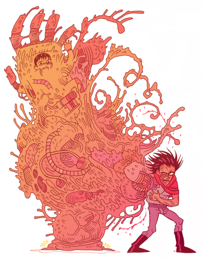 More Dan Hipp aka Mr. Hipp Illustrations