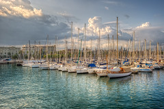 Port – Puerto, Barcelona (Spain), HDR