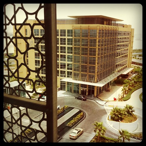 View from 7th floor of Yas Rotana