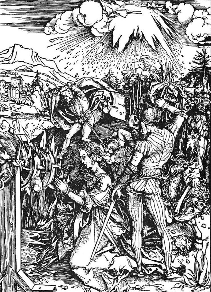 Albrecht Dürer, Le Martyre de sainte Catherine (1498)