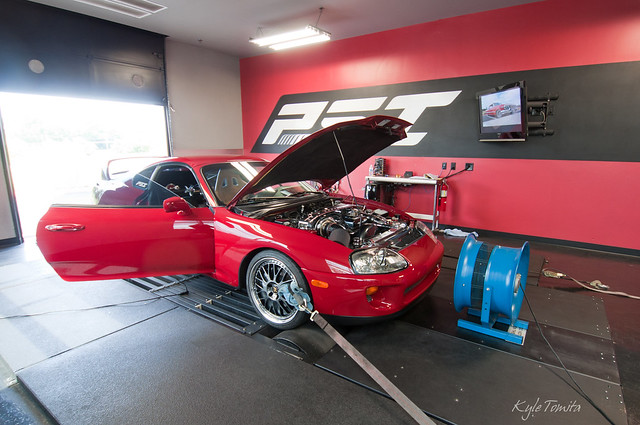 Supra on the dyno at PSI.JPG
