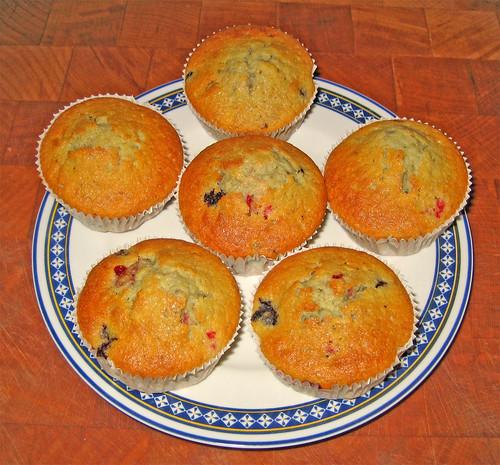 cupcakes con frutti di bosco by fugzu