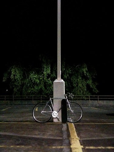 Skateboards and bikes are better at nights