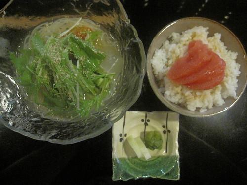 素麺@とりとやさい梁(桜台)