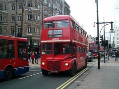 Arriva London RM295 (VLT 295) Oxford Street 3/3/01 (jmupton2000) Tags: london buses transport routemaster rm arriva aec rml vlt295