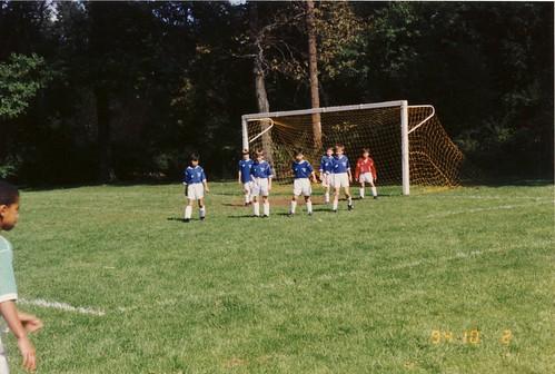 小学3,4年生のtownのサッカー試合@NJ州 1994.10.2 by Poran111