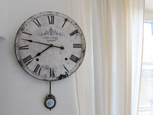 Faded Clock by Danalynn C