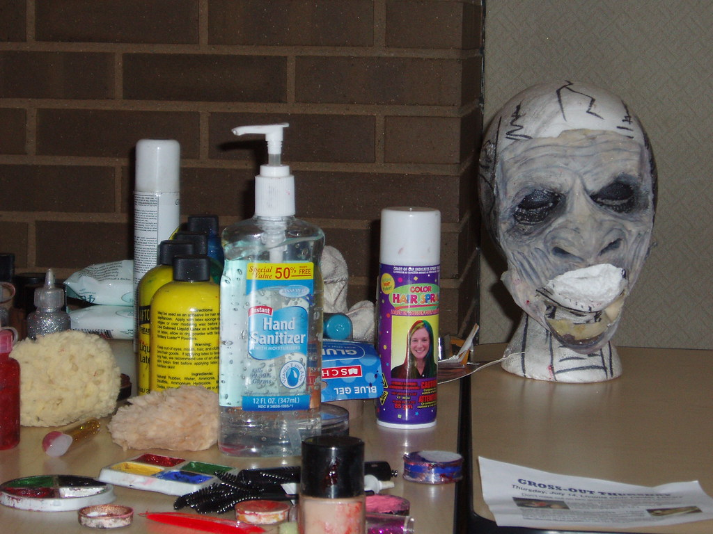 Horror Movie Make-Up