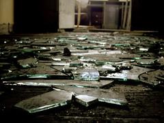 Shattered (freesundays) Tags: black glass dark shattered destroyed vanished