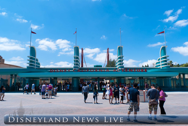 The New California Adventure Entrance