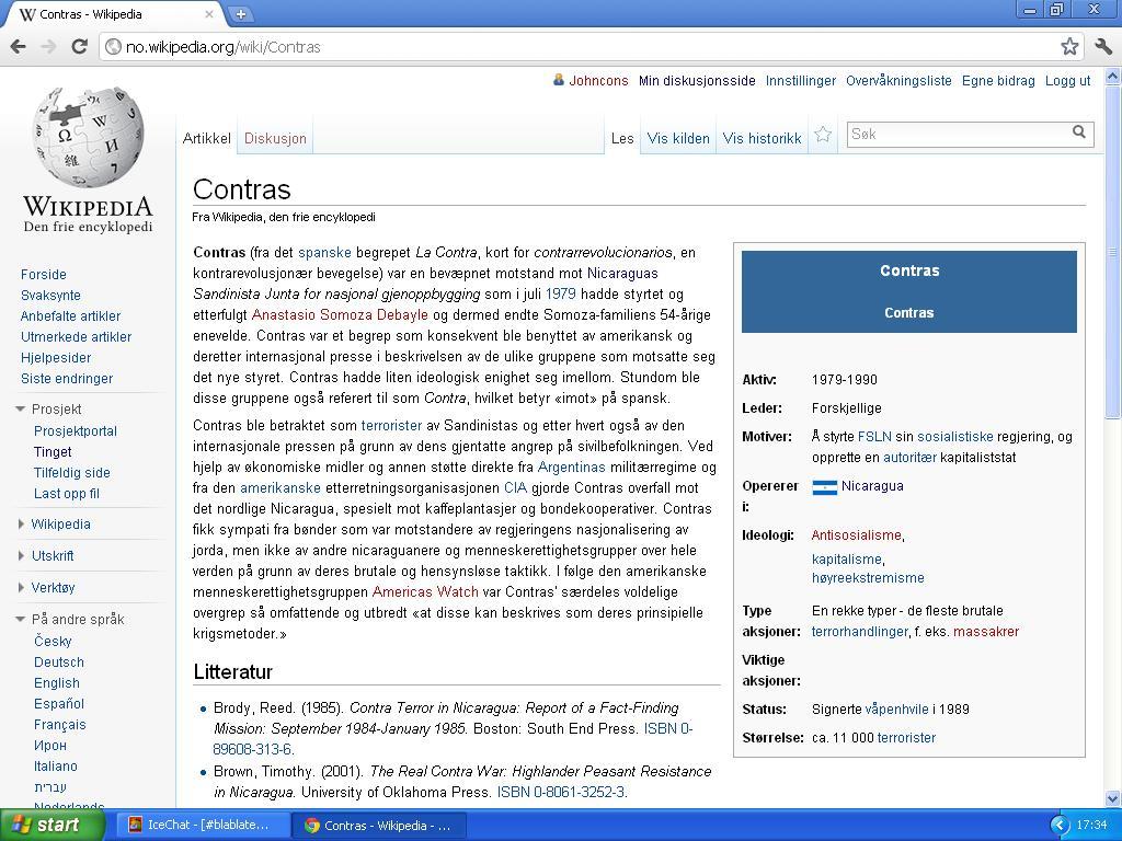 contas wiki