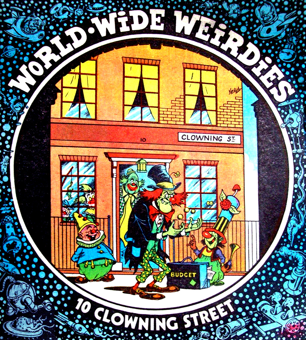 Ken Reid - World Wide Weirdies 29