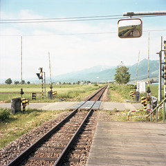 slow beat* (Momota.M) Tags: travel 120 6x6 film japan rolleiflex hokkaido portra160nc momotam