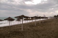 Malagueta Beach (koalie) Tags: cruise sea espaa beach water spain sand surf day cloudy croisire lamalagueta 2011springvacation mlagaes