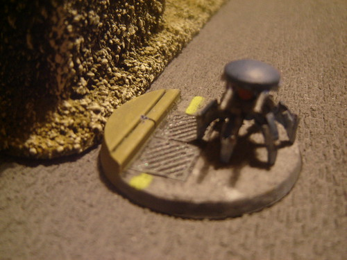 Spider Drone on Base#2