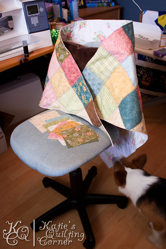 Quilted Shawl - Prototype