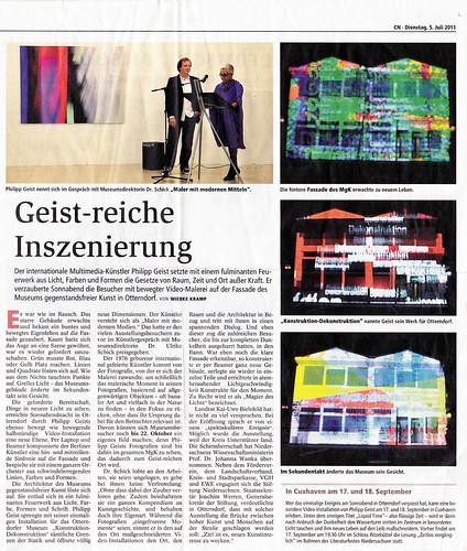 Presse_CuxhavenerNachrichten050711_MGK_Geist