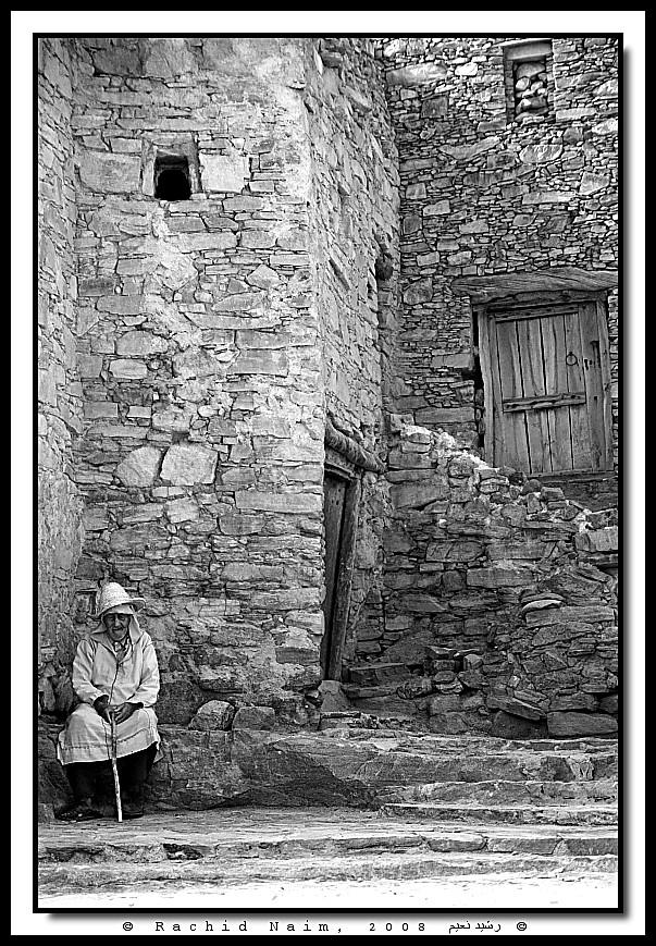 The Old man of the Kasbah - Le vieil homme de la Casbah