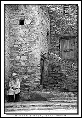 The Old man of the Kasbah - Le vieil homme de la Casbah (Rachid Naim) Tags: old man de la le casbah homme  kasbah the   vieil      blackwhitephotos