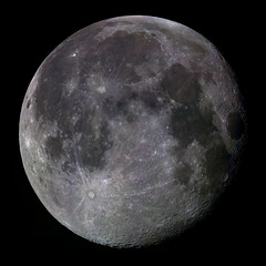 Moon mosaic  7/17/11 (zAmb0ni) Tags: sky moon night mare mosaic crater astrophotography astronomy imaging source celestron dfk