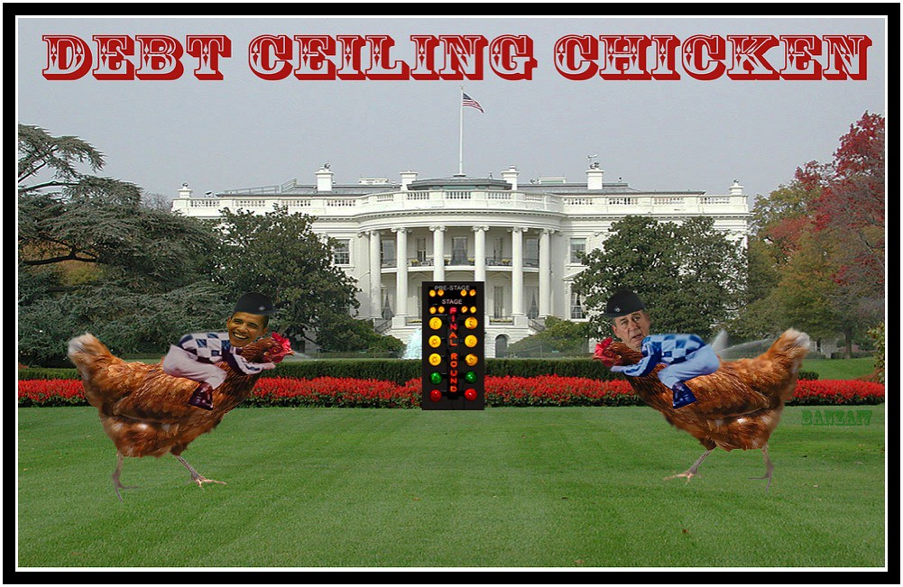 DEBT CEILING CHICKEN