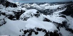 Swiss mountains (Jax Tiongco) Tags: travel blackandwhite snow landscape photography switzerland scenery europe worldtravel swissmountains cablecarride mtpilatus