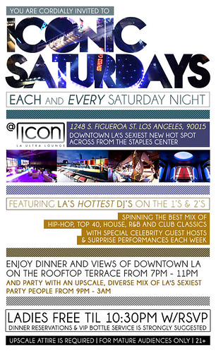 ICONIC SATURDAYS @ Icon Ultra Lounge by VVKPhoto