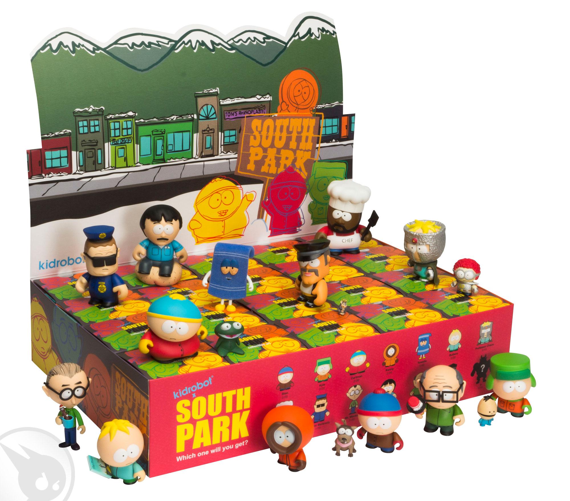 RARE!!! Kidrobot South Park Series 1 Zipper Pull Professor Chaos Chase