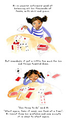 Ni Starts Again (Hi Ni) Tags: art illustration pencil watercolor children cards sketch artist designer drawing illustrationfriday watercolour afroamerican motivation illustrator positive blackgirl cardgames lessons scattered graphicdesigner afrocaribbean keepgoing artforchildren bookcoverdesigner nyhagraphics illustratorforhire naomicrobinson textandart charcterdevelopment