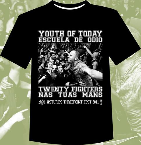 Camiseta Threepoint Fest 2011. Ayúdanos a recuperar