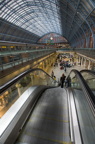527/1000 - St Pancras Station by Mark Carline