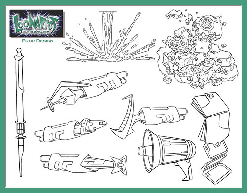 loonatics unleashed coloring pages - photo#4