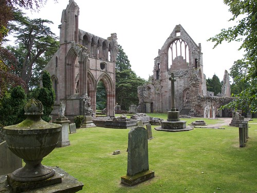 Dryburgh Abbey, Cemetery