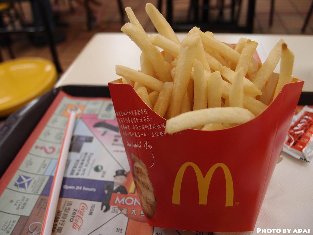 2011.7.21 麥當勞 薯條