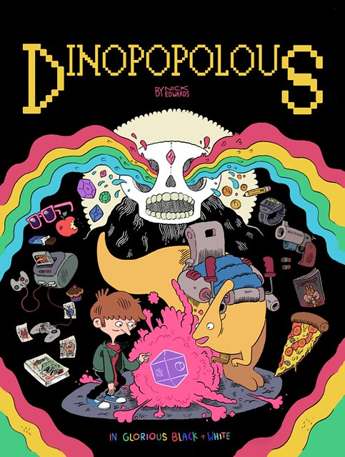 Dinopopolous Cover