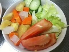 朝食サラダ(2011/7/22)