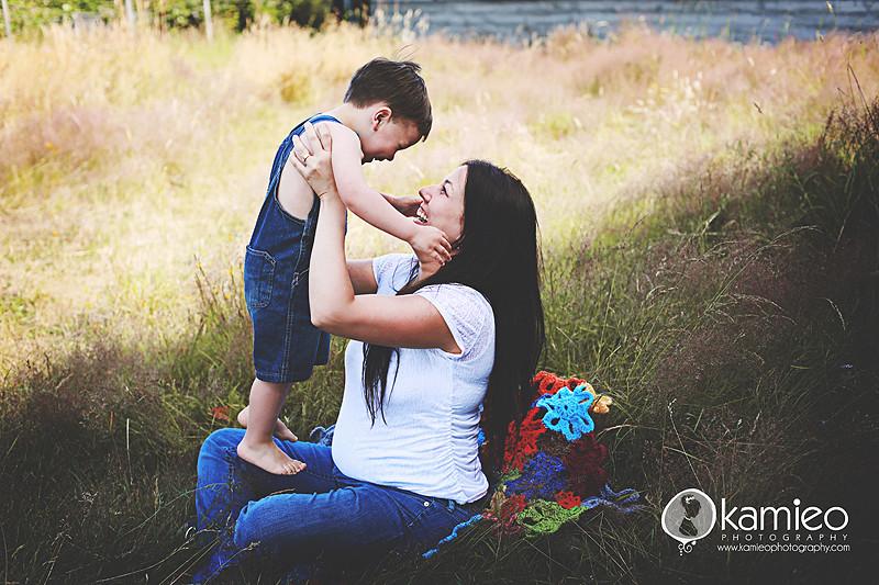 Lucas & Momma