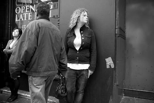 Mr Week walks past Mrs End :-) by Pierre Mallien
