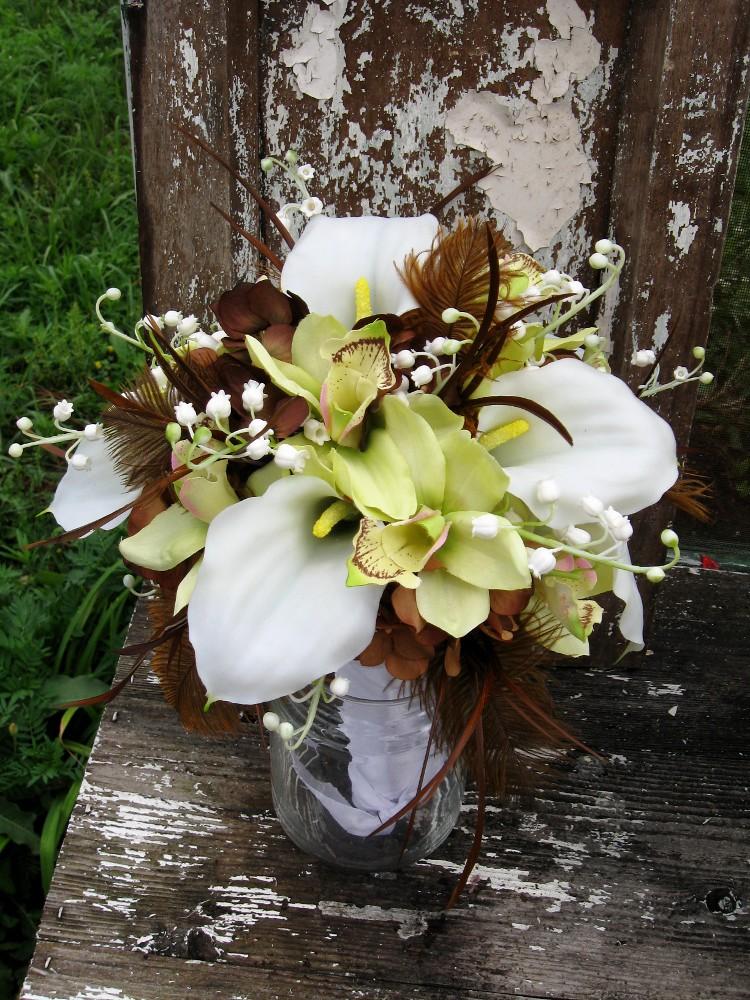 Custom order bridal bouquet