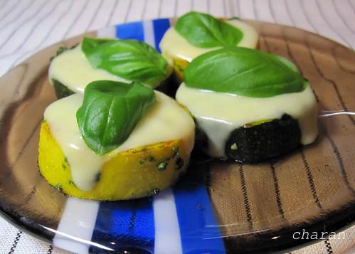 ズッキーニのチーズ焼き 2011.7.23 by Poran111