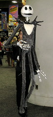 Jack Skellington Puppet/Costume at Comic-Con 2011