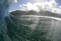 Another one (Jules Cooper) Tags: friends love happiness surfing tahiti bodyboarding teahupoo